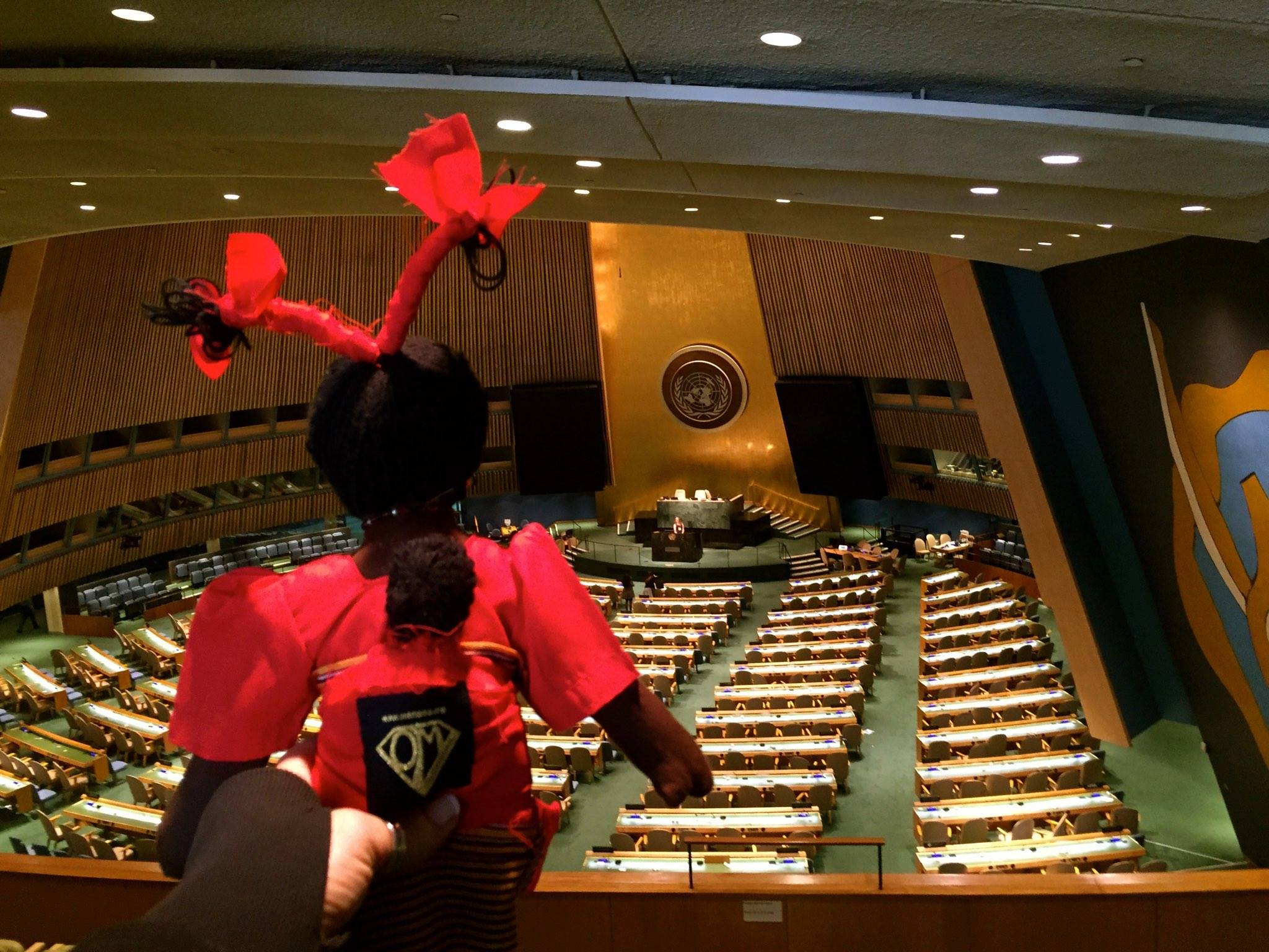 OneMama at the UN in New York City