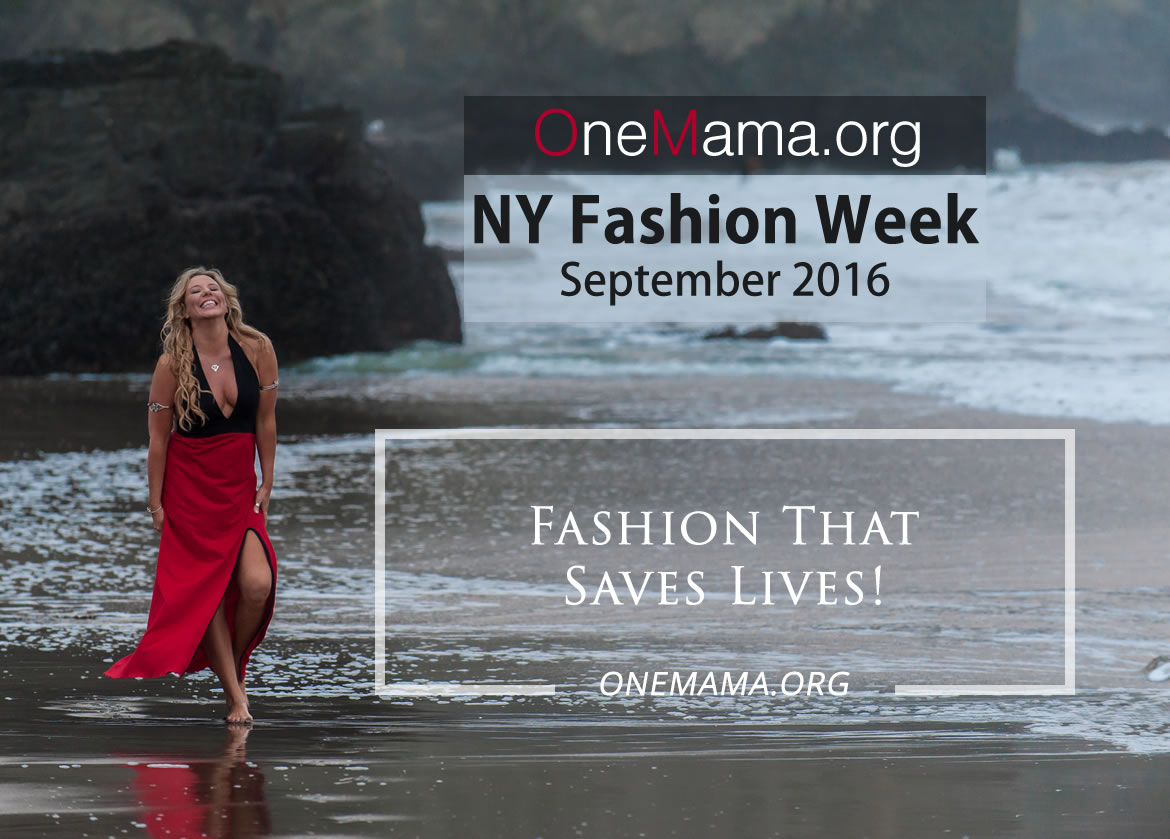 Siobhan OneMama Featured Charity NYC Fashion Week