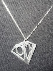 OneMama Action Hero Necklace - Sterling Silver