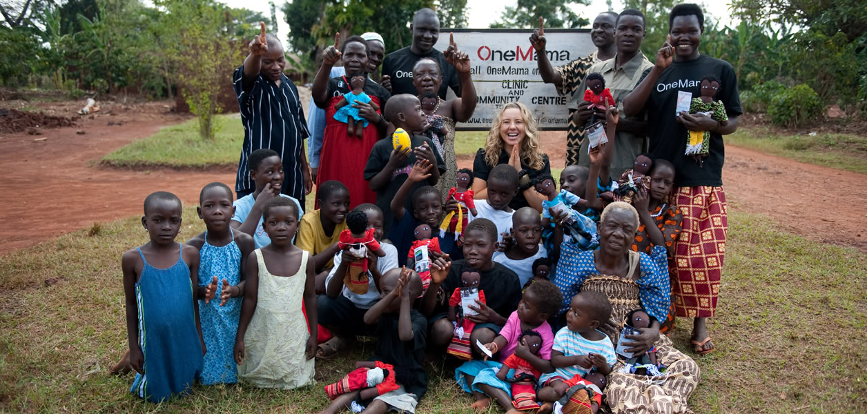 Learn More about OneMama's Mission to Help Families in Rural Uganda