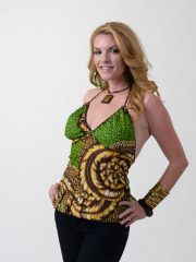 OneMama African Print Baby Doll Tank