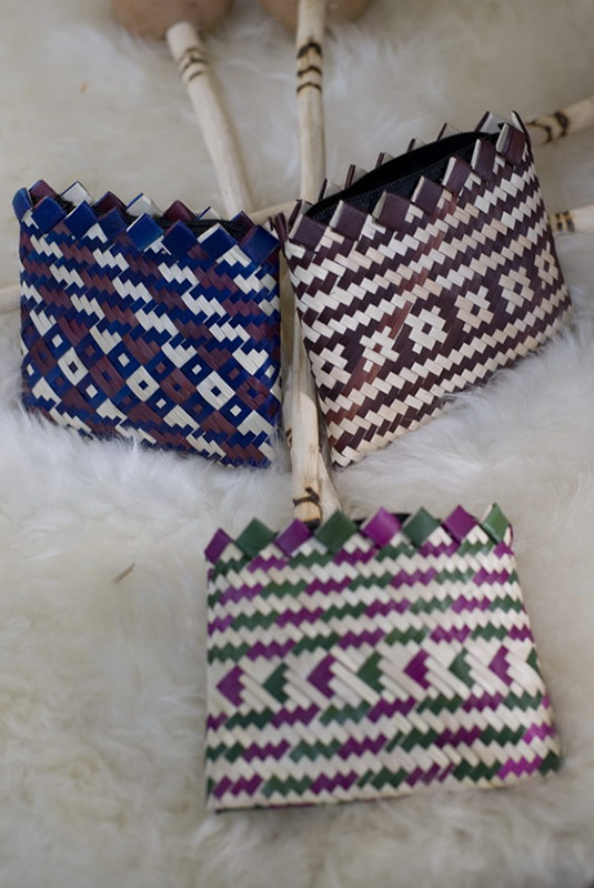 Money-Maker Hand-Woven Coin Pouch