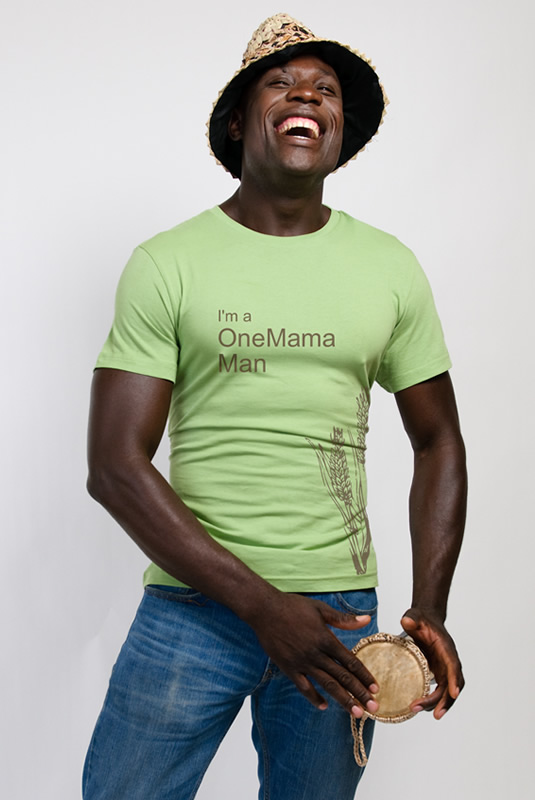"""I'm a OneMama Man"" Men's T-Shirt"