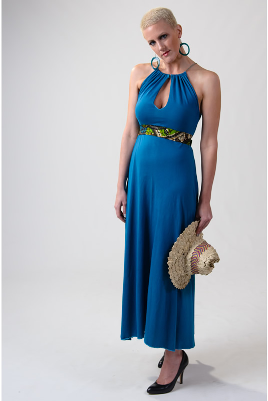 Classy Tear Drop 5-Way Maxi Dress
