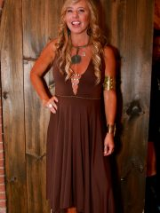 a-line-dress-chocolate-front