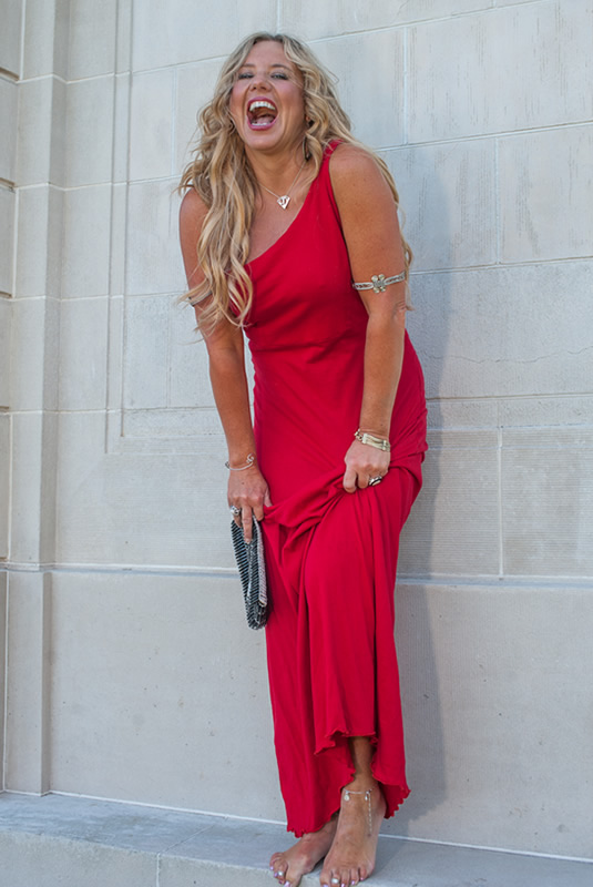 Goddess Gown - Red