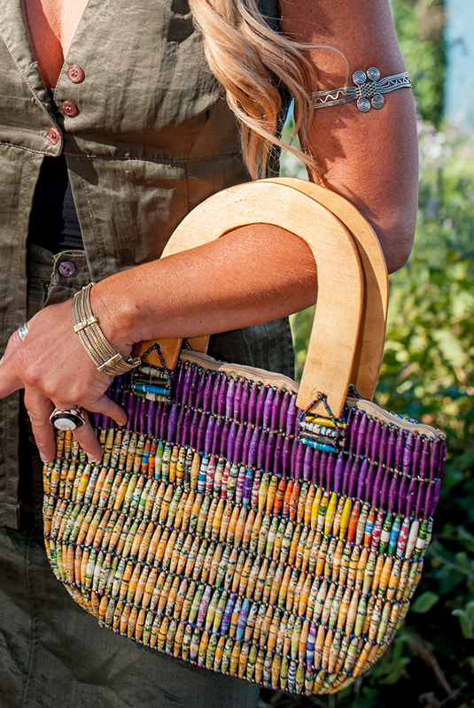 One-Of-A-Kind Jamira Beaded Hand Bag