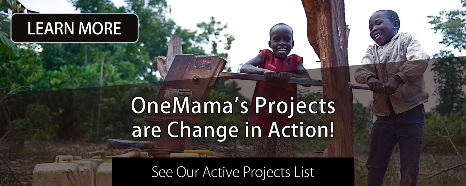 Learn More About OneMama's Life Saving Projects