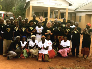 The Onemama Uganda Team with Siobhan and Evan