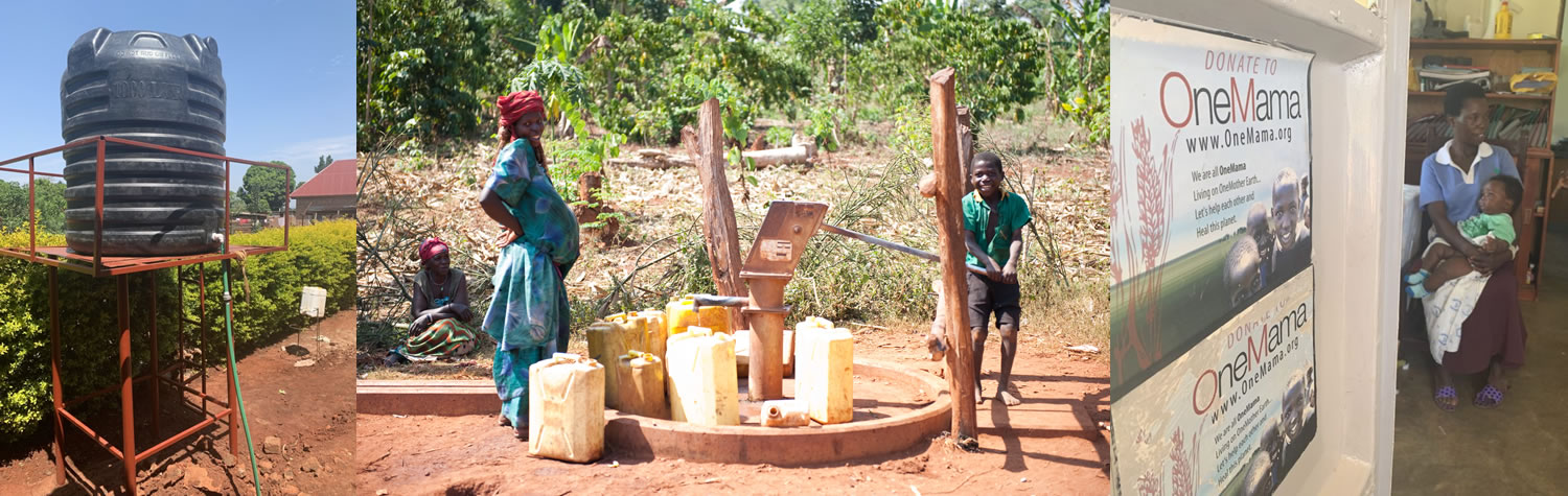 OneMama Works to Provide Clean Water to Rural Uganda