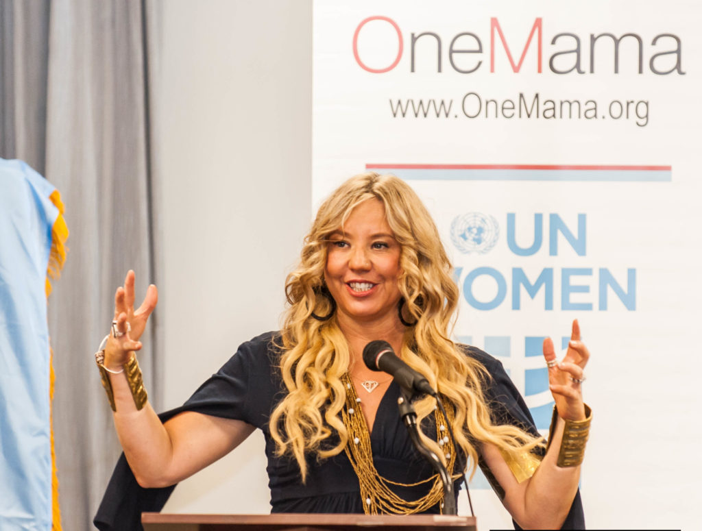 Siobhan Neilland OneMama Founder, CEO United Nations Delegate