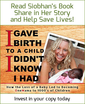 I gave birth to a child I didn't know I had - story and book by Siobhan Neilland
