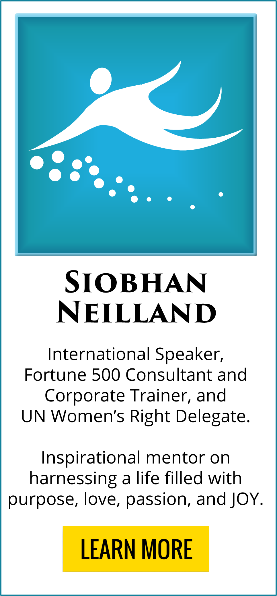 Thought Leader Siobhan Neilland